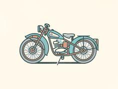BSA Bantam D1 Motorcycle by Christopher Hebert