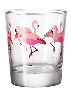 ikea-flamingo-drinking-glass // I need these // apparently only at Canadian Ikeas but only $1.50 each!!