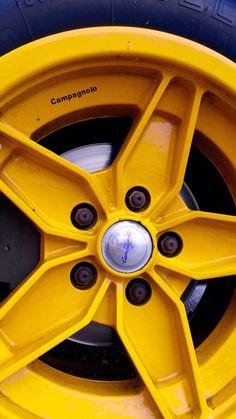 #Lancia #Stratos yellow rim Ph. Luca Borgogno