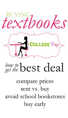 How to get good deals on textbooks