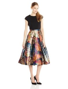 Ted Baker Women's Eana Technicolor Bloom Dress