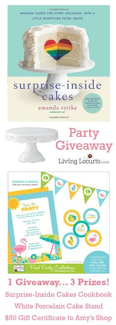 A fun Party Giveaway on LivingLocurto.com! Hurry and enter to win. Ends March 17, 2014.