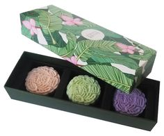 Eco&more sells mooncake-shaped soap for a unique gift. (Courtesy Photo)