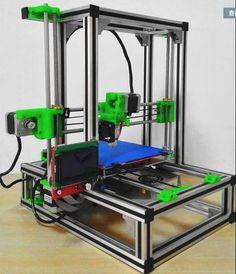 3d-drucker kit high precision I3 prusa aluminium profil verbesserte version der DIY suite drucker 3D 3d Printer Kit, 3d Printer Projects, Cnc Projects, Laser Printer, 3d Printing Machine, Cnc Machine, Arduino, Cnc Software, 3d Printing Business