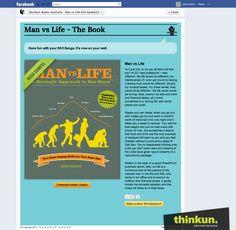Man vs Life Facebook application