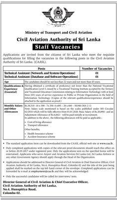 Sri Lankan Government Job Vacancies At Sri Lanka Tourism