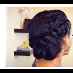 5 Ways to Wear a Chignon on Natural Hair | Black Girl with Long Hair