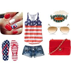 """""""America Themed"""" by erin-elise-beck on Polyvore"""
