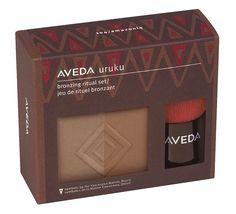 ***LOOKING BOSSA GLOW *** if anyone has one!! Aveda Makeup | Summer makeup bag essential: Aveda Uruku Bronzing Ritual Kit