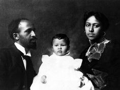 W. E. B. Du Bois and his wife, Nina, are pictured with their son, Burghardt, who died of diphtheria in Atlanta in 1899 at the age of two. - Courtesy of Special Collections and Archives, University of Massachusetts, Amherst