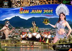 Fiesta de San Juan en Tingo María 2015