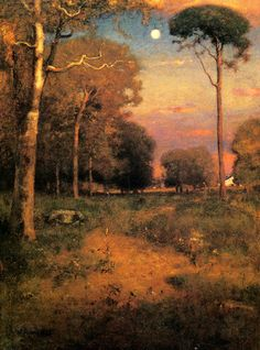 Early Moonrise, Florida    George Inness