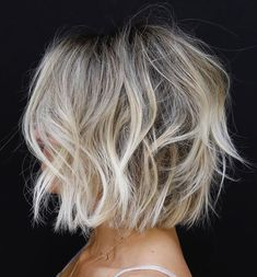 Messy White Blonde Balayage Bob hair styles 60 Beautiful and Convenient Medium Bob Hairstyles Medium Bob Hairstyles, Messy Hairstyles, Fashion Hairstyles, Short Thick Hairstyles, Fall Bob Hairstyles, Medium Short Haircuts, Modern Short Hairstyles, Club Hairstyles, Trending Hairstyles