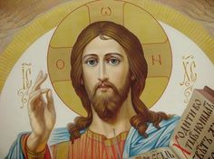 "Jesus said, ""I am the way and the truth and the life. Roman Church, Show Beauty, Art Icon, Religious Icons, Orthodox Icons, Jesus Quotes, Christian Art, Faith In God, Heavenly Father"