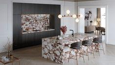 Viola Collection, la reinvención del mármol Calacatta con la resistencia de XTONE Calacatta Marble, Light And Space, Neoclassical, Main Colors, Decorative Objects, Countertops, Dining Table, Flooring, Living Room