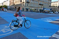 Copenhagen Biking Intersection