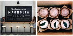 The day we've been waiting for is finally here—Chip and Joanna Gaines' new bakery is officially open to the public and we couldn't be more excited! Magnolia Joanna Gaines, Chip And Joanna Gaines, Silos Baking Co, Hgtv Shows, Moving Cross Country, Salon Signs, Magnolia Market, Merry