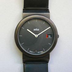 braun AW 50 -- Whoa. Braun has watches?!