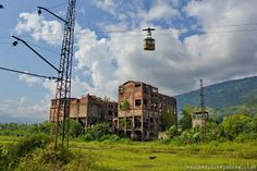 Tkuarchal, abandoned city in Russia