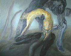 """Saatchi Art Artist Maia S Oprea; Painting, """"DUST X"""" #art"""