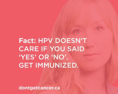 The BC Centre for Disease Control removed this ad that invoked the spectre of rape to convince women to get the HPV vaccine.