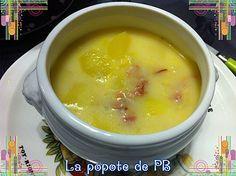Potage de pommes de terre au bacon au Thermomix | La popote de Petit_Bohnium