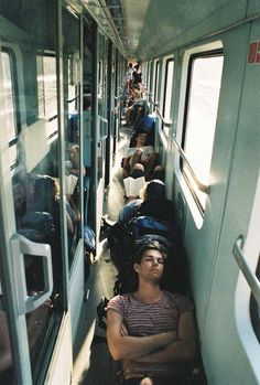 People flocked to the trains to find a place to sleep. With the trains standing still, they all piled on, grateful for a shelter. Story Inspiration, Writing Inspiration, Character Inspiration, Steven Meisel, Lindbergh, Train Travel, Adventure Is Out There, Oh The Places You'll Go, Beyonce