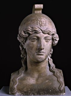 Bust of Athena, from Herculaneum, now in the Archaeological Museum of Naples