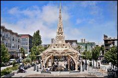 The Temple at Patricia's Green, San Francisco, 2015 (photo by Gareth Gooch)