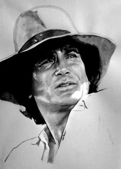 Michael Landon - Little House On The Prairie by 64Art.deviantart.com on @deviantART