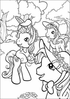 My Little Pony Coloring Pages | My Little Pony 8 coloring page