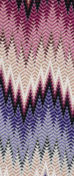 Phrae zig zag fabric- MissoniHome collection 2014