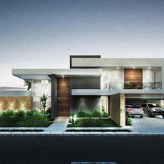Residência WCO, em Campo Mourão PR | Arquitetura por Fernando Farinazzo