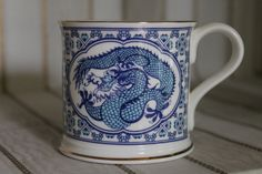 Dragon Development mug, circa 1990s