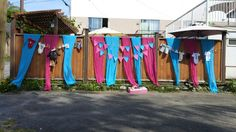Pink and Blue decor ideas for a gender reveal party Reveal Parties, Gender Reveal, Parenting, Party Ideas, Decor Ideas, Joy, Adventure, Outdoor Decor, Pink