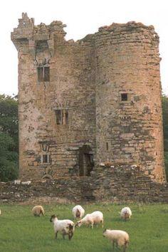 Castle McGrath, Donegal, Ireland <3