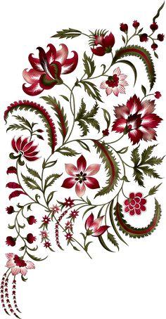 Baroque Pattern, Pattern Art, Arabesque, Zentangle, Mahndi Design, Mughal Miniature Paintings, Flower Art Images, Illustration Blume, Paisley Art