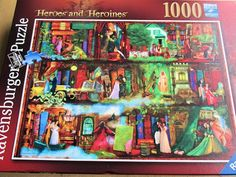 I love jigsaw puzzles as do my children so we were delighted to be asked if we would like to review a jigsaw puzzle from Ravensburger which is a brand I have seen a lot recently. We were sent the H...