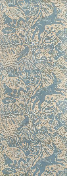 mark hearld, fabrics & papers (via: rachelpeloquin , sourc...