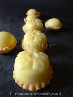 """Les mignardises au citron de Kouky du blog """"Cuisine à 4 mains"""""""