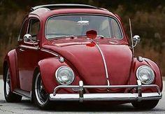 Nice RED VW bug...
