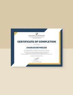 Free Internship Certificate Template Certificate Layout, Certificate Of Completion Template, Free Certificates, Certificate Design Template, Design Templates, Certificate Of Appreciation, Design Competitions, Brochure Design, Word Doc