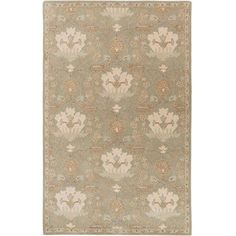 Art of Knot Maximian Area Rug, Green