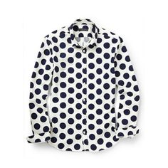 Nice polka Dot shirt. .Dare to be different