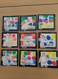 Rètols per penjadors Art For Kids, Crafts For Kids, Arts And Crafts, Ecole Art, Kindergarten Art, Classroom Crafts, Classroom Inspiration, Creative Kids, Art Plastique