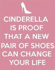 Can I get an amen?! The perfect shoes can make or break you. Show me her closet and I'll tell you exactly the kind of woman she is .... Or isn't ;)