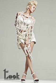 Kim Hyoyeon of Girls' Generation for First Look Magazine Kim Hyoyeon, Seohyun, Kpop Fashion, Korean Fashion, High Fashion, South Korean Girls, Korean Girl Groups, Girls Generation Hyoyeon, Moda Kpop