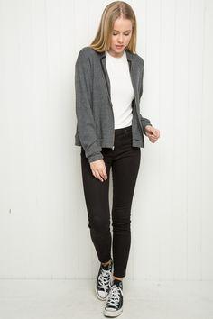 Brandy ♥ Melville | Kassidy Hoodie - Sweaters - Clothing