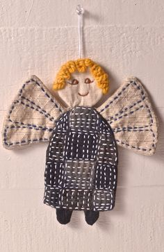 Sashiko Angel and Star Pattern - Download Only