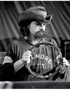 """Ron McKernan, """"Pigpen"""", founding member of US west coast psychedelic rock band Grateful Dead, at The Family Dog - Feb 1970 Photo © Altman: all rights John Perry Barlow, Jimi Hendricks, Phil Lesh And Friends, Jerry Garcia Band, Fillmore East, Mickey Hart, Bob Weir, Dead And Company, Musica"""
